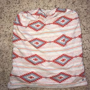 Obey tube top Aztec size XS
